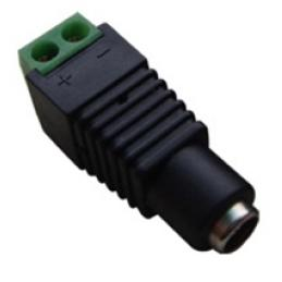 ACA-P5-21M-5, 2.1mm female Power Plug with Built-in Screw Terminal