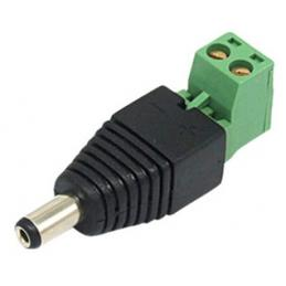 ACA-P4-21M, 2.1mm male Power Plug with Built-in Screw Terminal