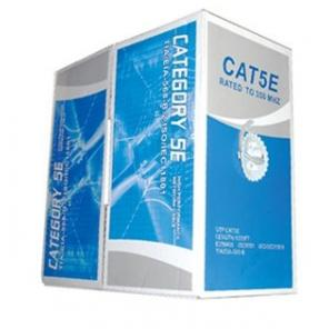 AW-CAT5E-1W-E, CAT5E 1000ft Pull Box, White Color, Standard Grade