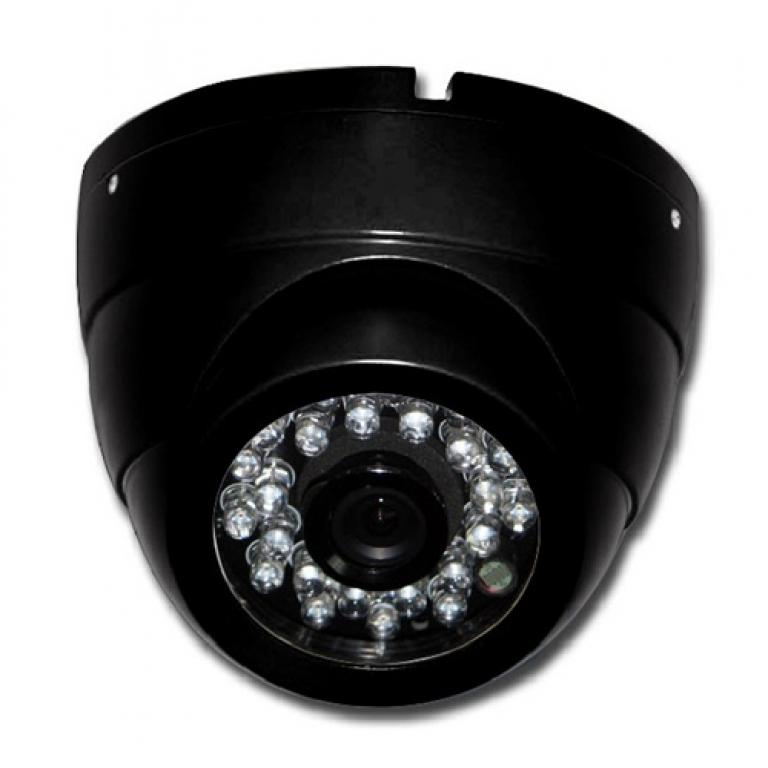 ACC-V04N-CS4D-CONF, ACC-V04N-CS4D, 1000 Res Weatherproof Infrared Vandal Dome Camera. White, Black & Grey Colors