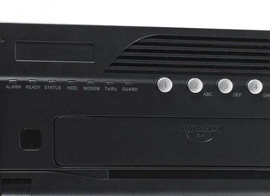 Hikvision DS-9008HWI-ST-16TB Hybrid Digital Video Recorder with up to 8 Analog and 16 IP Channels, 16TB
