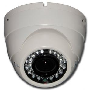 ACC-V406N-20VD-W, 1080P AHD Varifocal IR Vandal Dome Camera, 2.8-12mm Lens, White Color
