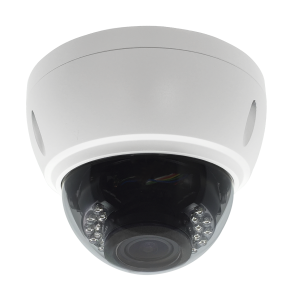 ACC-V708N-20VD-W, 1080P Resolution, 4-in-1 (AHD, HD-TVI, HD-CVI, and Analog) Varifocal IR Vandal Dome Camera (White Color)