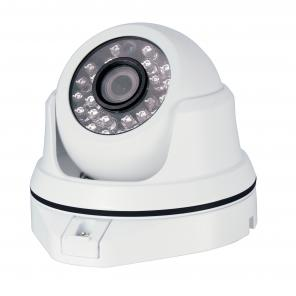 ACC-V404N-204D-W, 1080P Resolution, AHD+Analog Fixed Lens IR Vandal Dome Camera (White Color) ***CLEARANCE – BRAND NEW*** 933