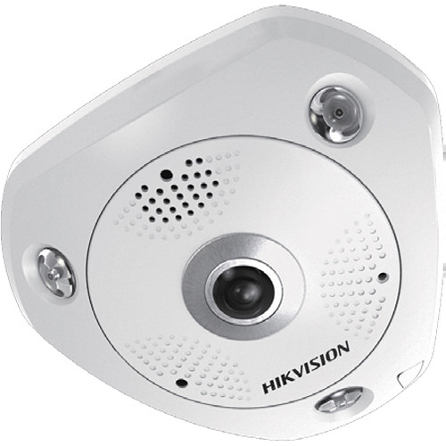Hikvision DS-2CD63C2F-IV 12MP Outdoor Network Fisheye Camera w/ Night Vision