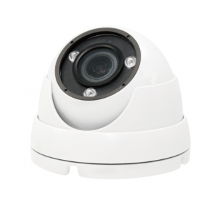 ACC-V706N-24MD-W, 1080P Resolution, 4-in-1 Motorized Zoom Vandal Dome Camera With DWDR (Available in white or grey