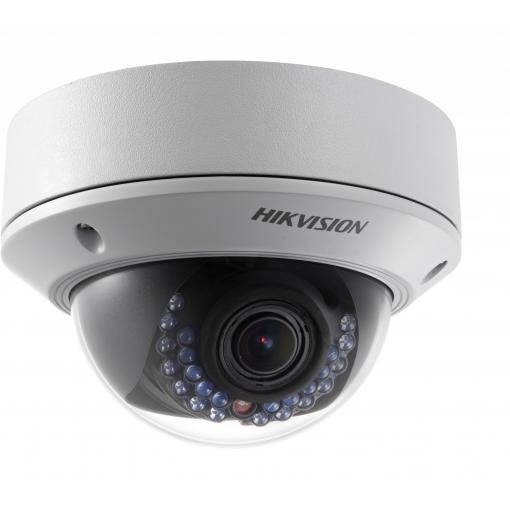 Hikvision DS-2CD2712FWD-IS 1.3 Megapixel Network Outdoor IR Dome Camera, 2.8-12mm Lens